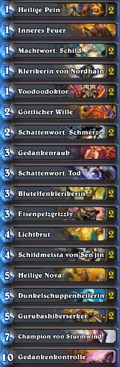 Priest Deck 1