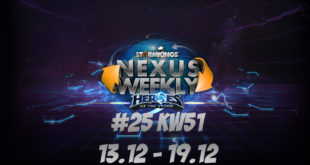HEROES OF THE STORM NexusWeekly #25 | KW 51 13.12. – 19.12.
