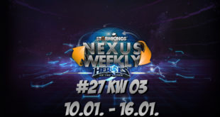 HEROES OF THE STORM NexusWeekly #27 | KW 03 10.01. – 16.01.
