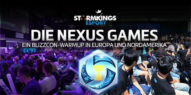 Action vor der BlizzCon – Die Nexus Games
